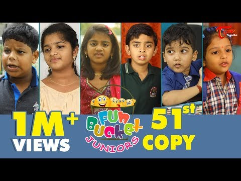 Fun Bucket JUNIORS  Episode 51  Kids Funny s  Comedy Web Series   Sai Teja  TeluguOne