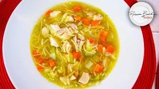 Leftover TURKEY Recipe |Turkey or Chicken Noodle Soup  SAME EASY INGREDIENTS!
