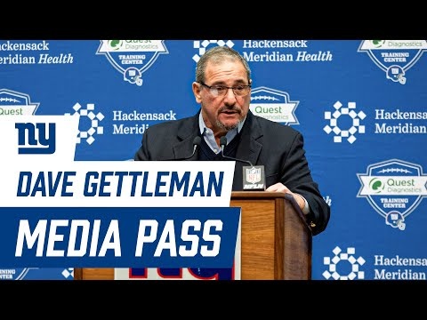 Giants General Manager Dave Gettleman on State of the Team