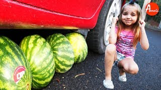 MAMMA SCHIACCIA ANGURIA! FREAKY MOMMY CRUSHES WATERMELON  AMELI TVIT