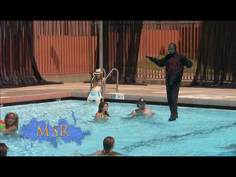 HOLY TRICK! MAGICIAN WALKS ON WATER! - YouTube