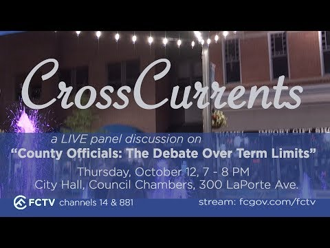 "CrossCurrents - ""County Officials: The Debate Over Term Limits"""