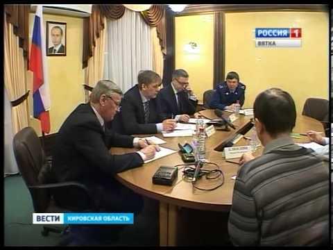 Прямая линия в региональной приемной президента РФ на тему трудового права(ГТРК Вятка)