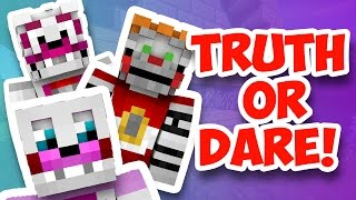 Minecraft Fnaf: Sister Location - Truth Or Dare (Minecraft roleplay)