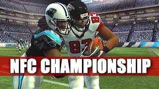 1 GAME AWAY - MADDEN 2007 FALCONS FRANCHISE VS PANTHERS NFC CHAMPIONSHIP GAME