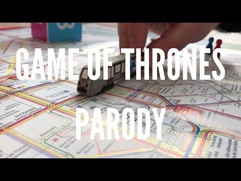 Game Of Thrones Parody - STIB/MIVB