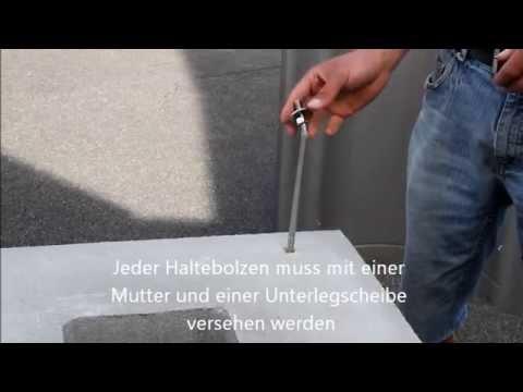 Videoanleitung Zur Montage Einer Schornsteinabdeckung Youtube