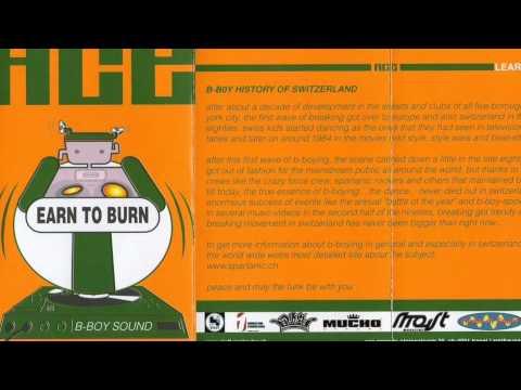Dj Ace - Learn To Burn Bboy Mixtape Cassette