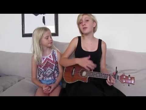 Wagon Wheel Duet - Sisters singing with Eukele