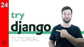 Try DJANGO Tutorial - 24 - Raw HTML Form