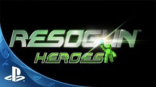 RESOGUN Heroes Expansion Teaser (PS4)