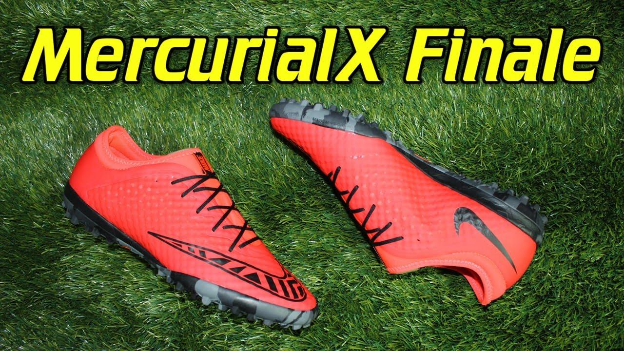 f1f49aad0 Nike MercurialX Finale Turf Bright Crimson - Review + On Feet - YouTube