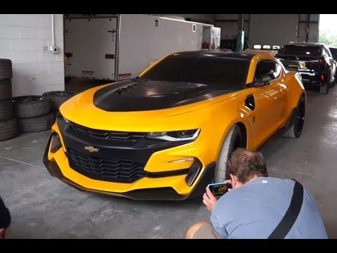 New 2019 Camaro Spotted!   What Are They Hiding? - YouTube