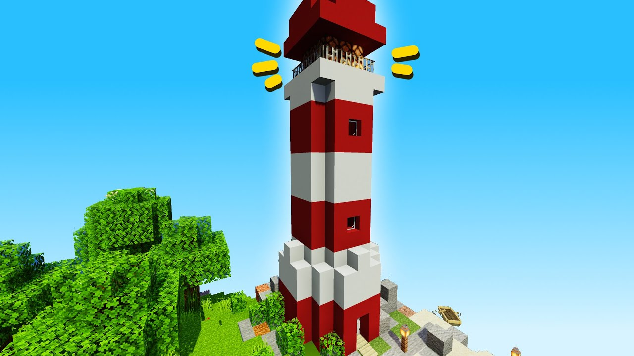 Minecraft: How to Make a Working Lighthouse