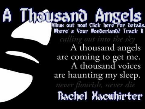 A Thousand Angels With Lyrics!  Rachel Macwhirter
