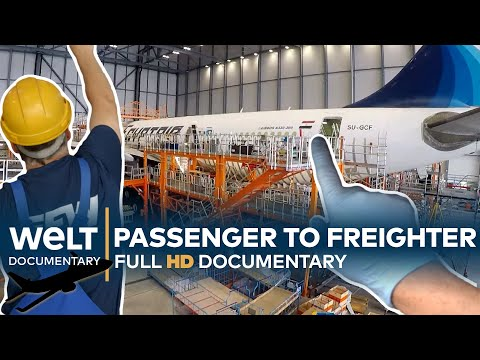 AIRCRAFT CONVERSION XXL - A cargo plane is born | Full Documentary