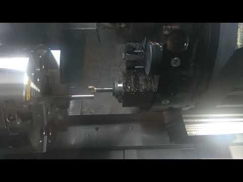 Ciclo Di Tornitura+foratura E Fresatura Con Asse C+tirabarre:HURCO TMM10