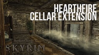 Skyrim PS4 Mods: Hearthfire Cellar Extention (All 3 Houses)