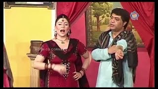 Sajan Abbas and Khushboo | New Pakistani Stage Drama Full Comedy Clip