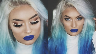 MODERN ELSA Ice Queen Makeup Tutorial | Naomi Jon