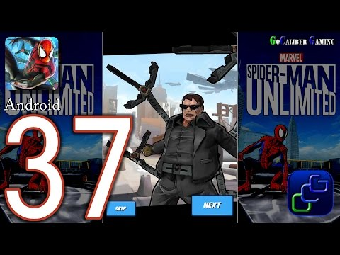 Spider Man Unlimited Android Walkthrough - Part 37 - Issue 5: The Deadly Doctor