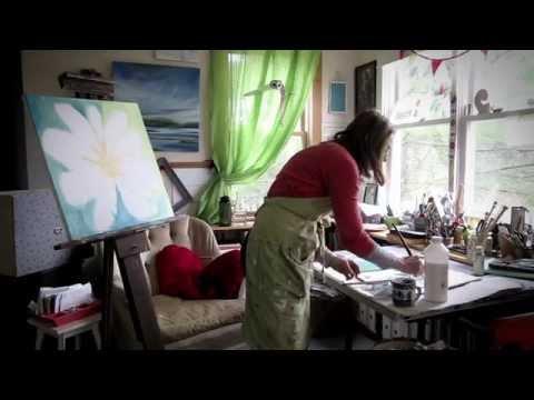 Wild Apple 1-Minute Artist Series - Sue Schlabach