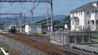 三岐鉄道北勢線 三重交通カラー(2018/6/9)