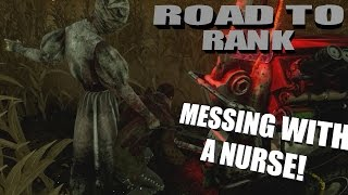 Dead By Daylight Survivor   MESSING WITH A NURSE
