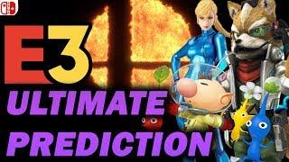 The ULTIMATE Nintendo E3 2018 Prediction Video!!! (RTE3 #6)