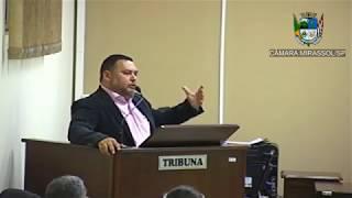 3ª Sessão Ordinária - Vereador Walmir Chaveiro