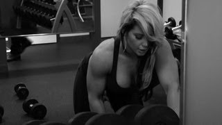 Kaitlyn's passionate and revealing workout video