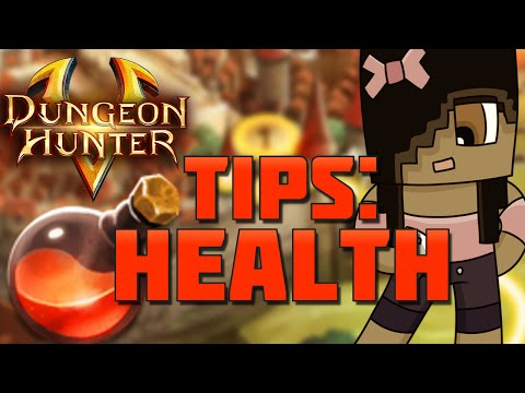 Health Potions And Regeneration | Dungeon Hunter 5 Tips And Tricks