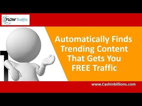 Flow Traffic Review Demo | Social Media Poster | Content Automation Software