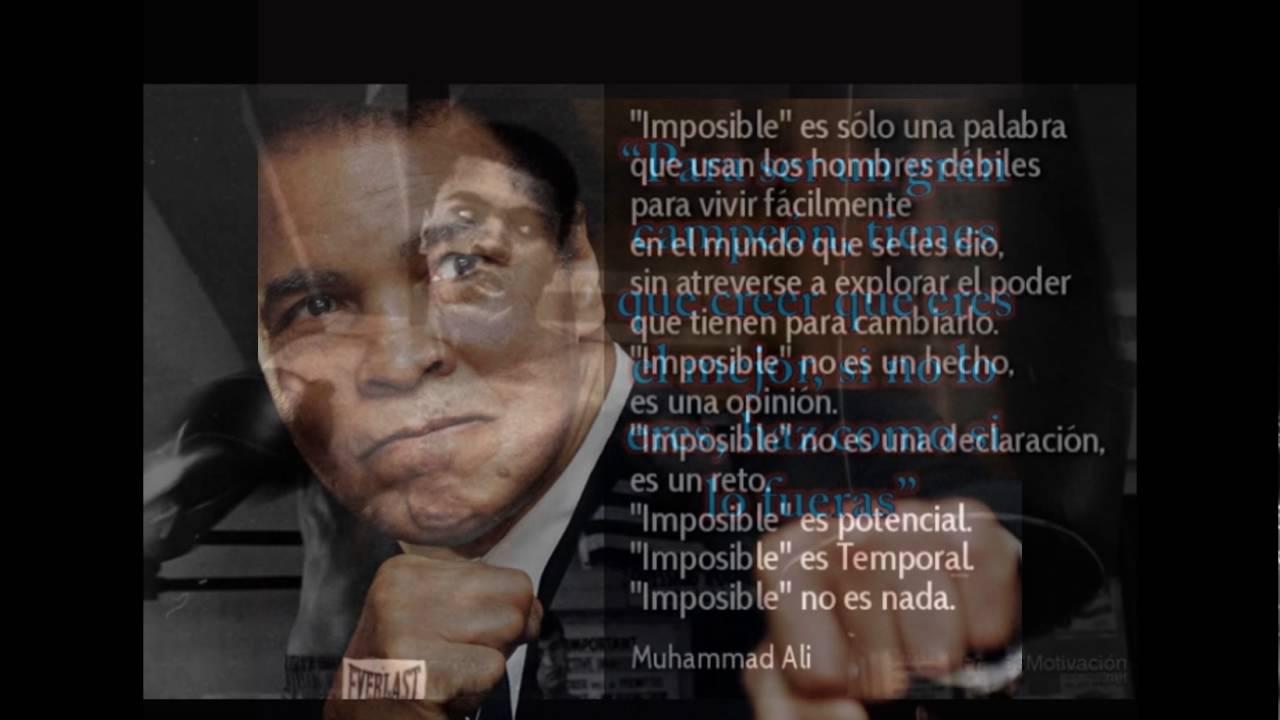 Coleccion De Frases Muhammad Ali
