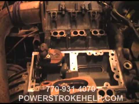 4.5l powerstroke - quick look - youtube ford ranger 4 0 engine diagram o2 sensors ford lcf 4 5l engine wiring