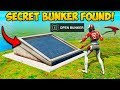 *NEW* SECRET BUNKER FOUND ON NEW MAP!! - Fortnite Funny Fails and WTF Moments! #711