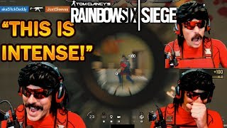 DrDisrespect's FIRST GAME On Rainbow Six Siege & He LIKES It! (INTENSE)!