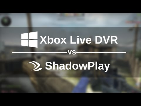 Xbox Game DVR / ShadowPlay Comparison (CS:GO)