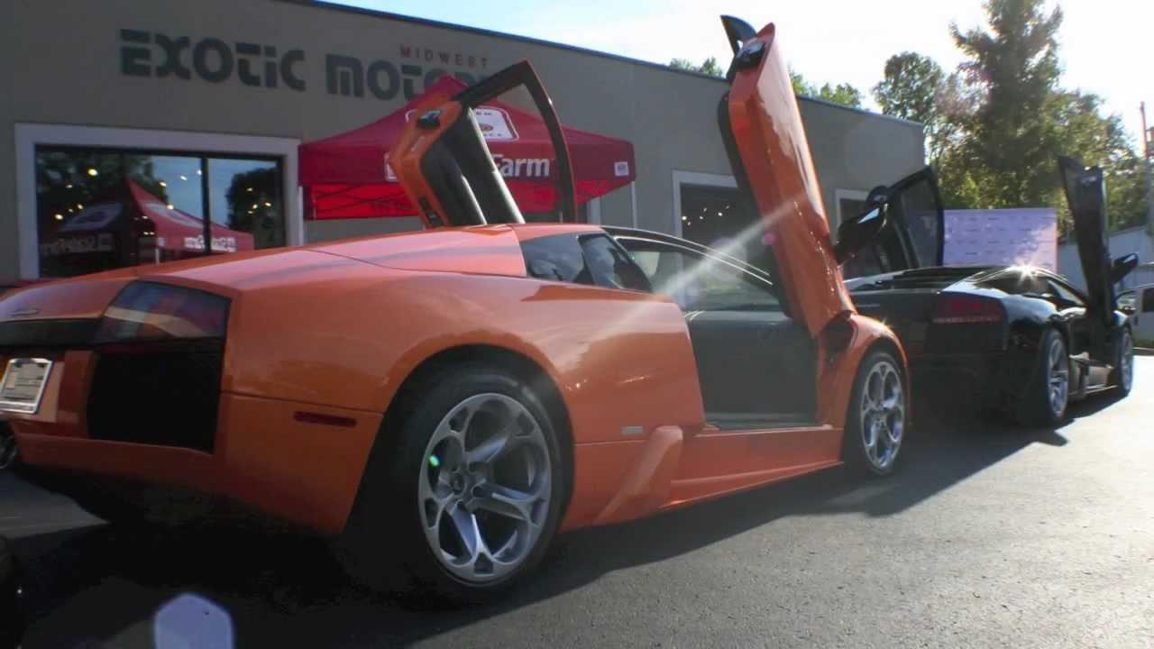 Lamborghini Murcielago Start Up Engine Sound Youtube