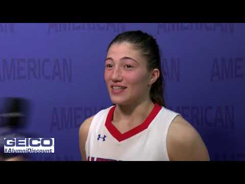 @AU_WBasketball Postgame Interview - Emily Fisher (11/14/2019)