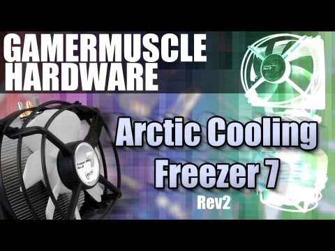 Arctic Cooling Freezer 7 Pro rev 2 Socket CPU Cooler - Unboxing , installation and review