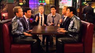 "Barney and Ted singing ""For The Longest Time"" (Acapella) in How I Met Your Mother"
