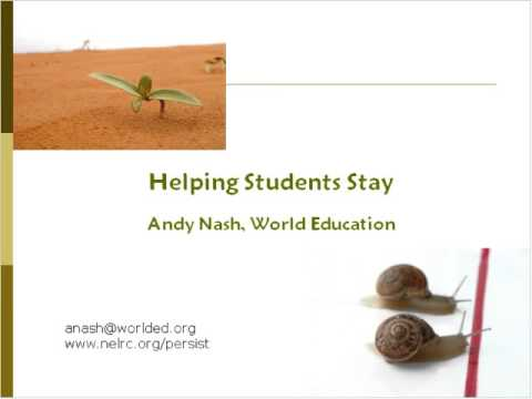 Online Teacher Tutor Workshop - Helping Students Stay