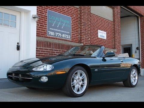 2002 Jaguar XK8 Convertible Walk Around Presentation At Louis Frank  Motorcars LLC In HD