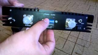 Усилитель сигнала GSM-1800 EUROLINK D-20(Польский усилитель мобильной связи стандарта GSM-1800. Применяется для решения проблем с некачественной связь..., 2014-06-30T11:56:18.000Z)