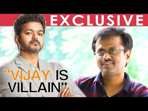 SARKAR TEASER : Vijay Was Little Worried about doing Sarkar - A R Murugadoss Reveals