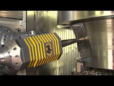 GLOBAL Hydro Produktion eines Francislaufrades