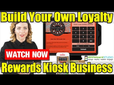Build A Loyalty Rewards Kiosk System