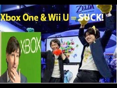 Microsoft Xbox One and Wii U E3 Sucks , Don Mattrick Nintendo E3 2013 Review , Angry Rant