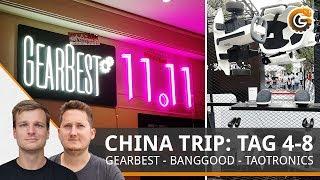Gearbest Singles Day, Banggood Lager & Nubia X - Shenzhen VLOG #2